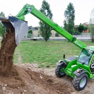 Medium Capacity Thl Turbofarmer 38.10TT CS-140CVTronic Merlo