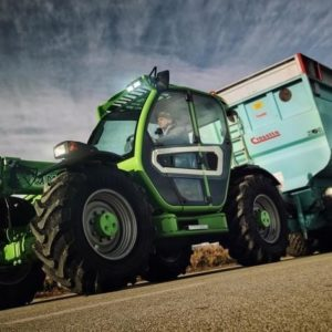Medium Capacity Thl Turbofarmer 33.9-115 G Merlo